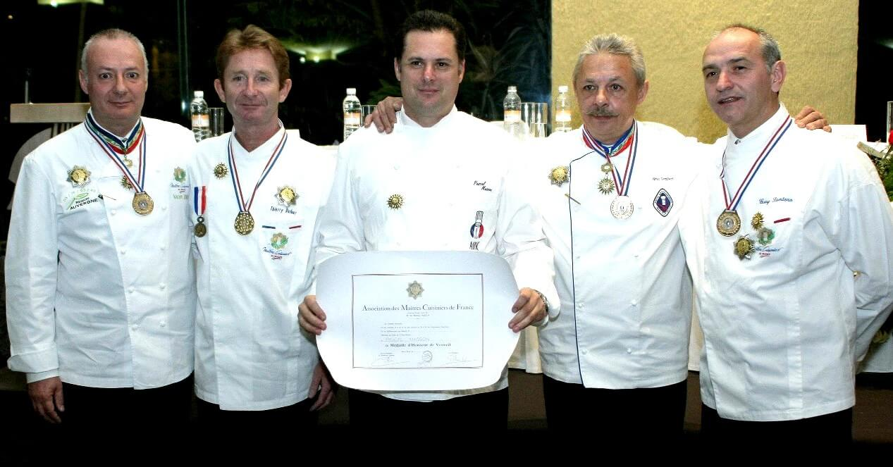 Chef Pascal Masson y Olivier lombard